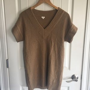 Tan sweater/tunic